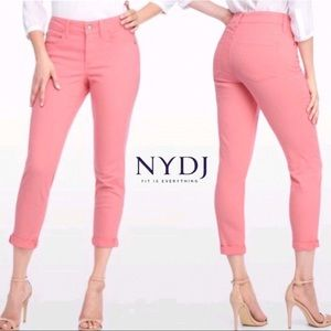 NYDJ - Alina Convertible Ankle Jeans in Pale Guava